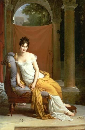 Gerard-Mme Recamier- Carnavalet