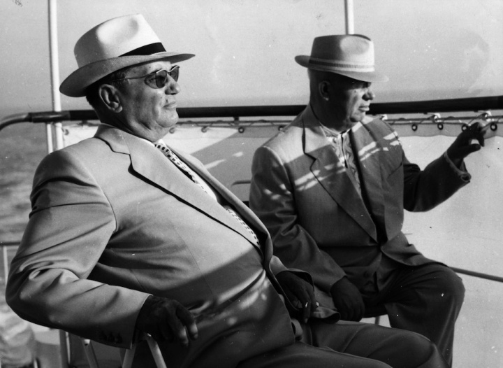 Khrushchev And Tito