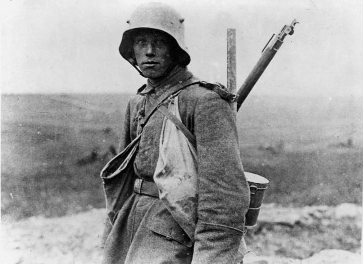 Westfront, deutscher Soldat